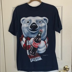 Vintage 1995 Coca Cola Polar Bear T-Shirt